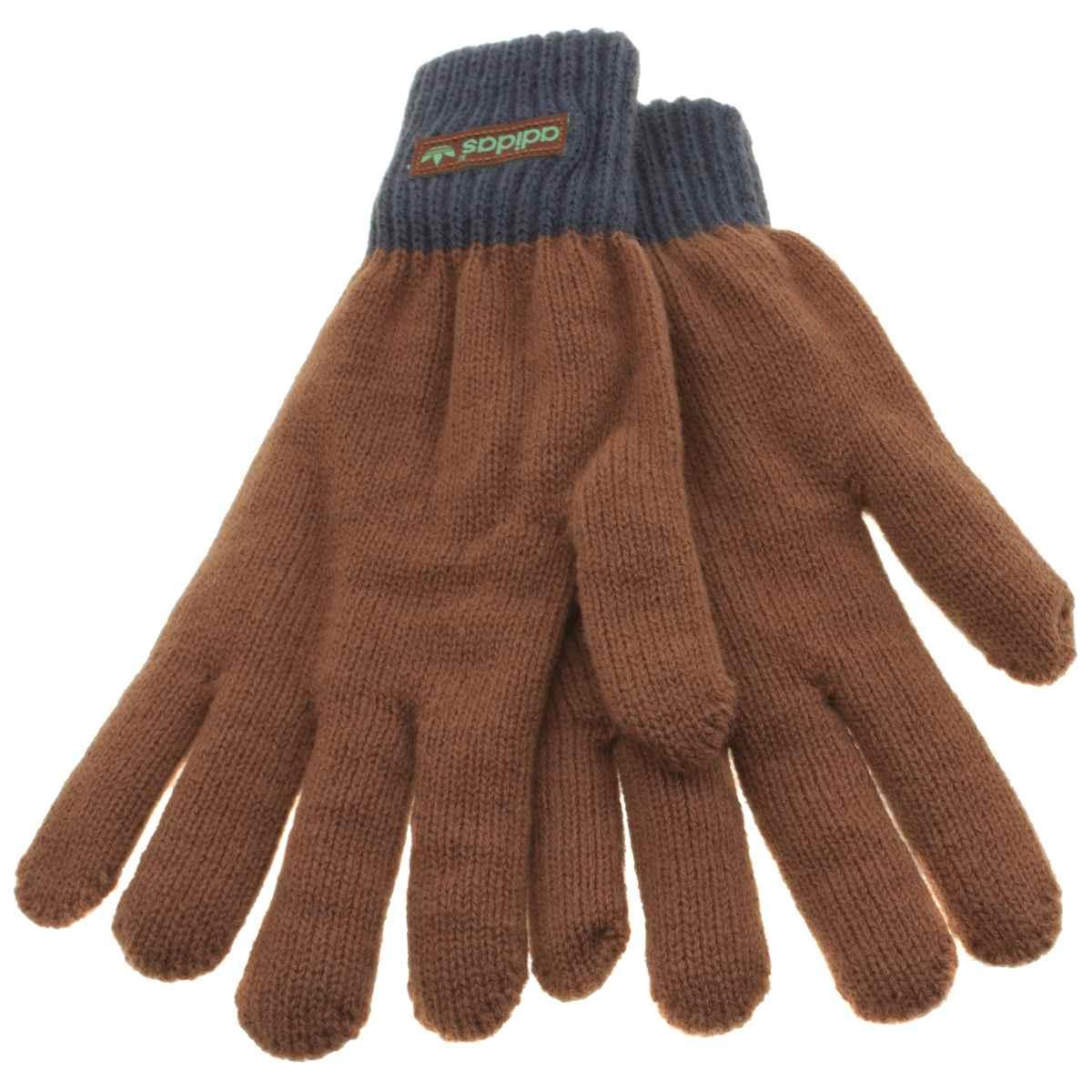 Adidas Brown & Navy Padded Glove