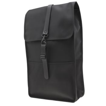 Rains Black Backpack Bags