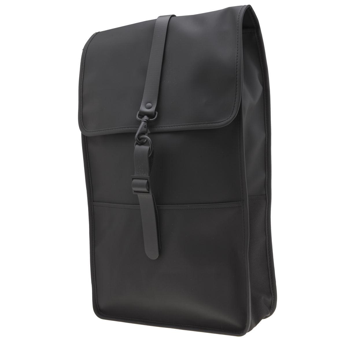 Rains Rains Black Backpack Bags