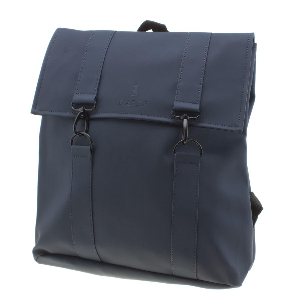 Rains Rains Navy Messenger Bag Bags