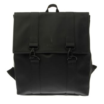 Rains Black Messenger Bags