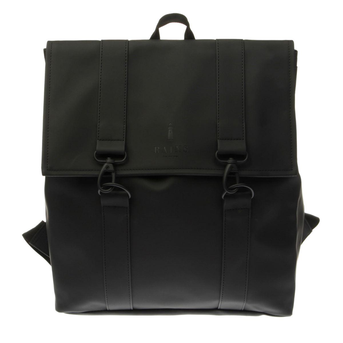 Rains Rains Black Messenger Bags