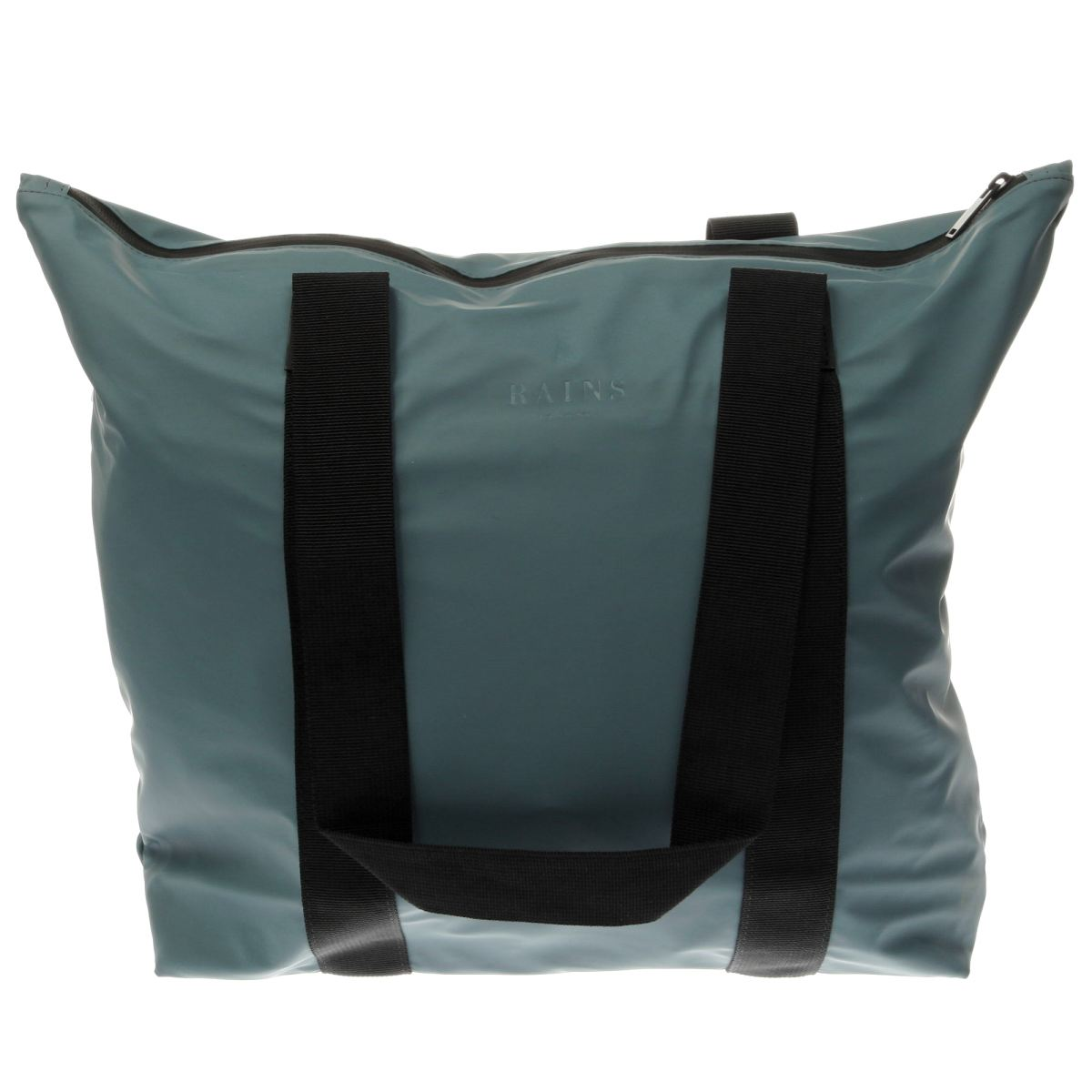 Rains Rains Teal Tote Bag Rush Bags