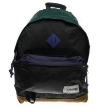 Eastpak Black & Green Wyoming Bags