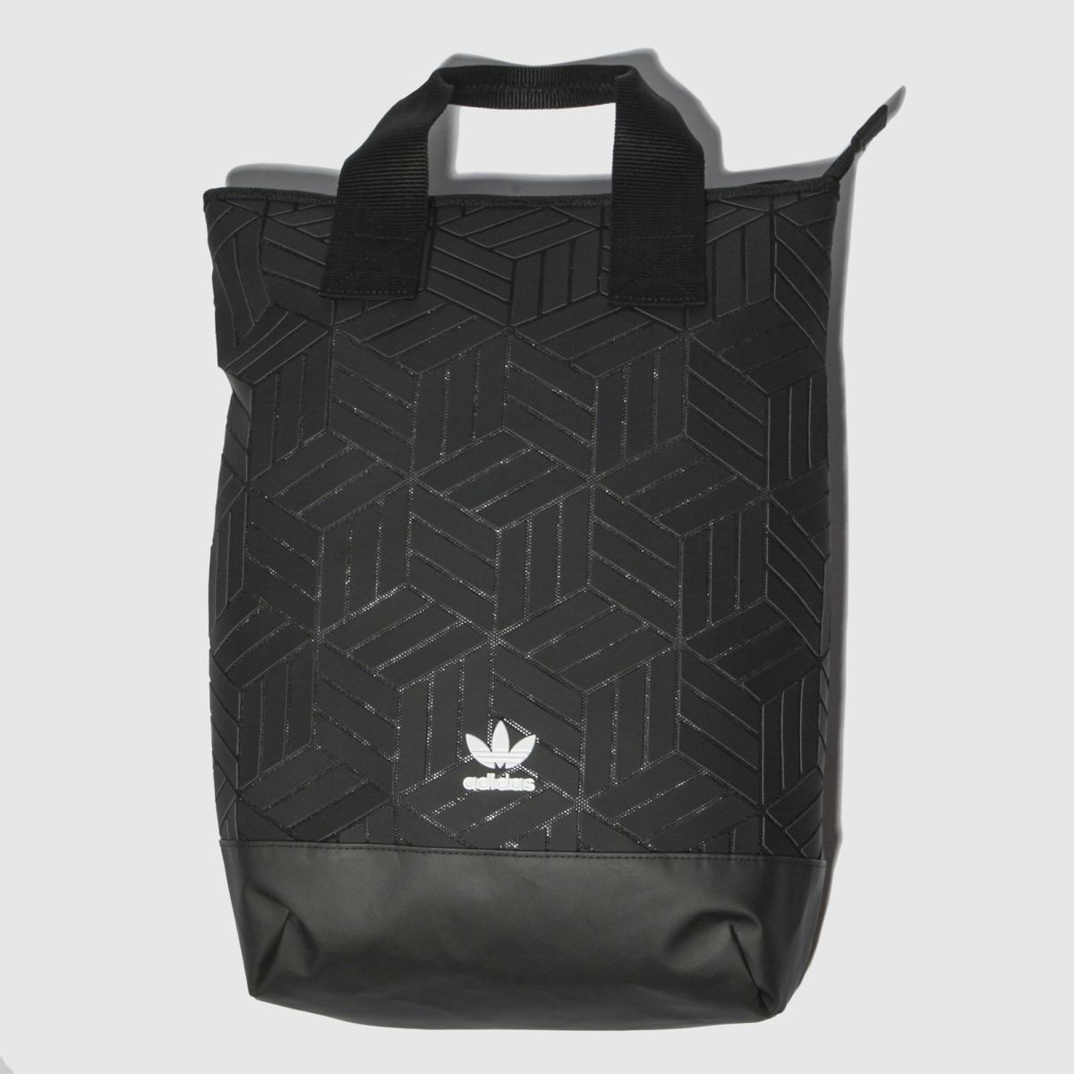 Image of Adidas Black Roll Top 3d