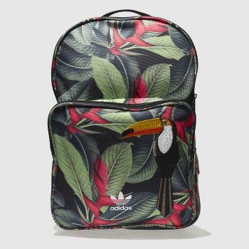 Adidas Green Classic Backpack Bags