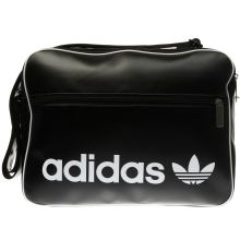 Adidas Black & White Vintage Airliner Bags