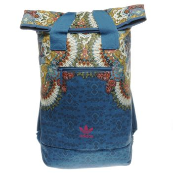 Adidas Navy Borbomix Roll-Top Bags
