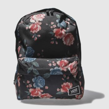 Vans Black Realm Classic Backpack Bags