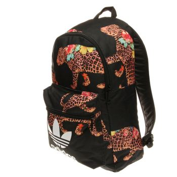 Adidas Black & Orange Oncada Classic Backpack Bags