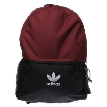 Adidas Burgundy Essentials Backpack Bags
