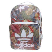 Adidas Green & Red Classic Backpack Bags