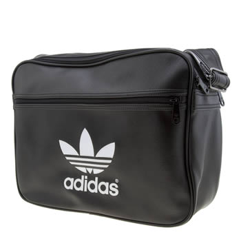 Accessories Adidas Black Airliner Classic Bags