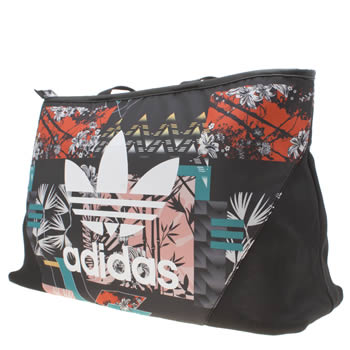 Adidas Black & Multi-Coloured Shopper Soccer Bags