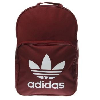 ACCESSORIES ADIDAS BURGUNDY CLASSIC TREFOIL