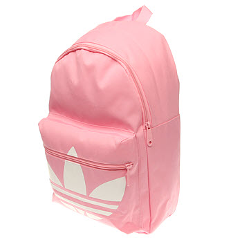 Adidas Pink Classic Trefoil Backpack Accessory