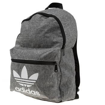 Adidas Grey Backpack Classic Melange Bags