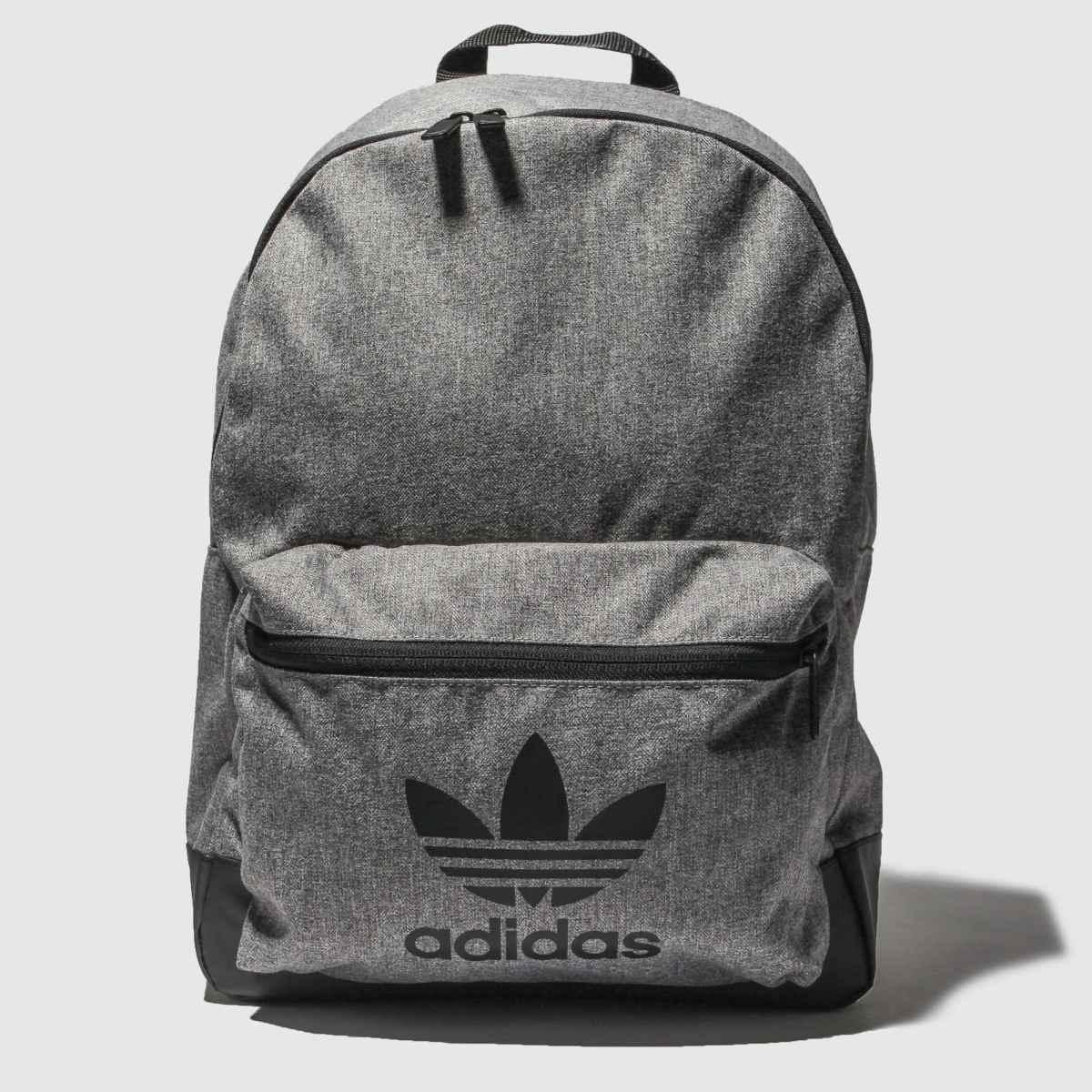 Image of Adidas Black & Grey Mel Classic
