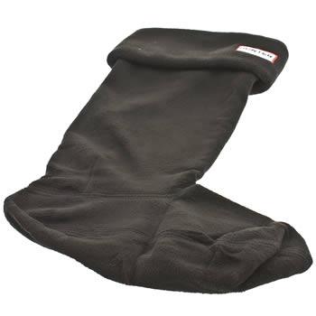accessories hunter black fleece welly