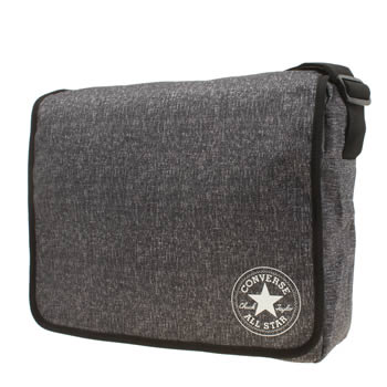 Converse Grey Flap Reporter Bags