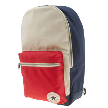 Converse Navy & Red Canvas Bags