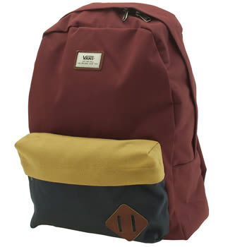 Vans Burgundy Old Skool Ii Backpack Bags