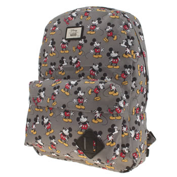 Vans Grey & Black Old Skool Disney Mickey Bags