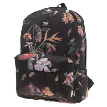 Vans Black & pink Old Skool Backpack Bags