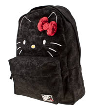 Black Vans Hello Kitty Backpack