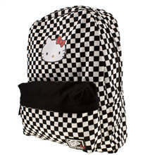 Black & White Vans Hello Kitty Backpack
