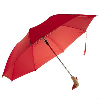 Original Duckhead Red Umbrella Accessory