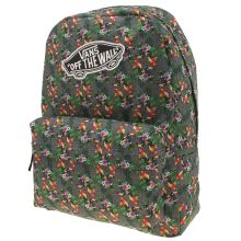 Vans Grey & Green Realm Parrot Backpack Bags