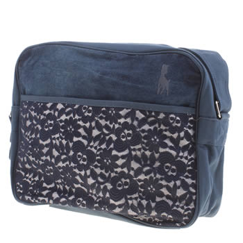 Babycham Navy Tiana Flight Bags