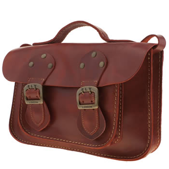 Fly London Red Annie Satchel Bags