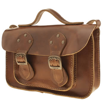 Fly London Tan Annie Satchel Bags