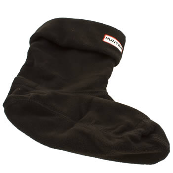 Hunter Black Short Welly Socks