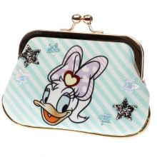Irregular Choice White & Pl Blue X Disney So Pretty Purse Bags
