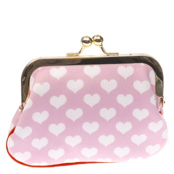 Irregular Choice Pale Pink X Disney Love N Kisses Purse Bags