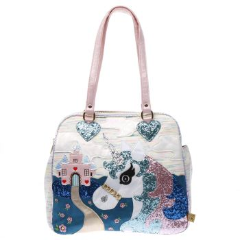 Irregular Choice White King Of The Castle Bags