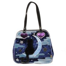 Irregular Choice Navy & Pl Blue Starry Night Bags