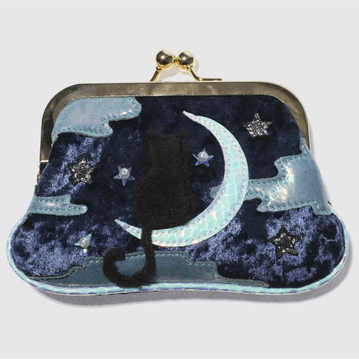 Irregular Choice Irregular Choice Navy & Pl Blue Starry Purse