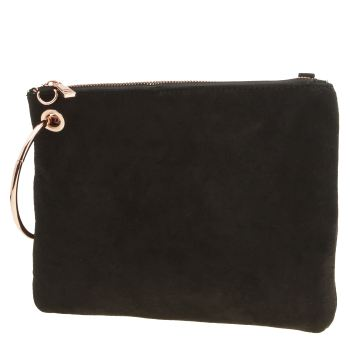 Accessories Missguided Black Hoop Handle Clutch Bags