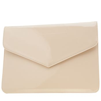 Missguided Natural Envelope Clutch Bags