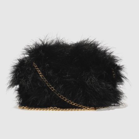 missguided feather clutch 1