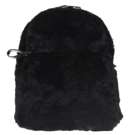 missguided faux fur backpack 1