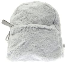 Missguided Grey Faux Fur Bags