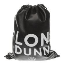 Missguided Black & White Londunn Drawstring Bags