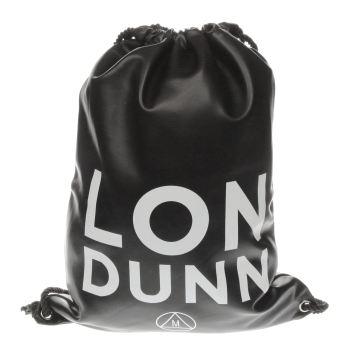 Missguided Black Londunn Drawstring Bags