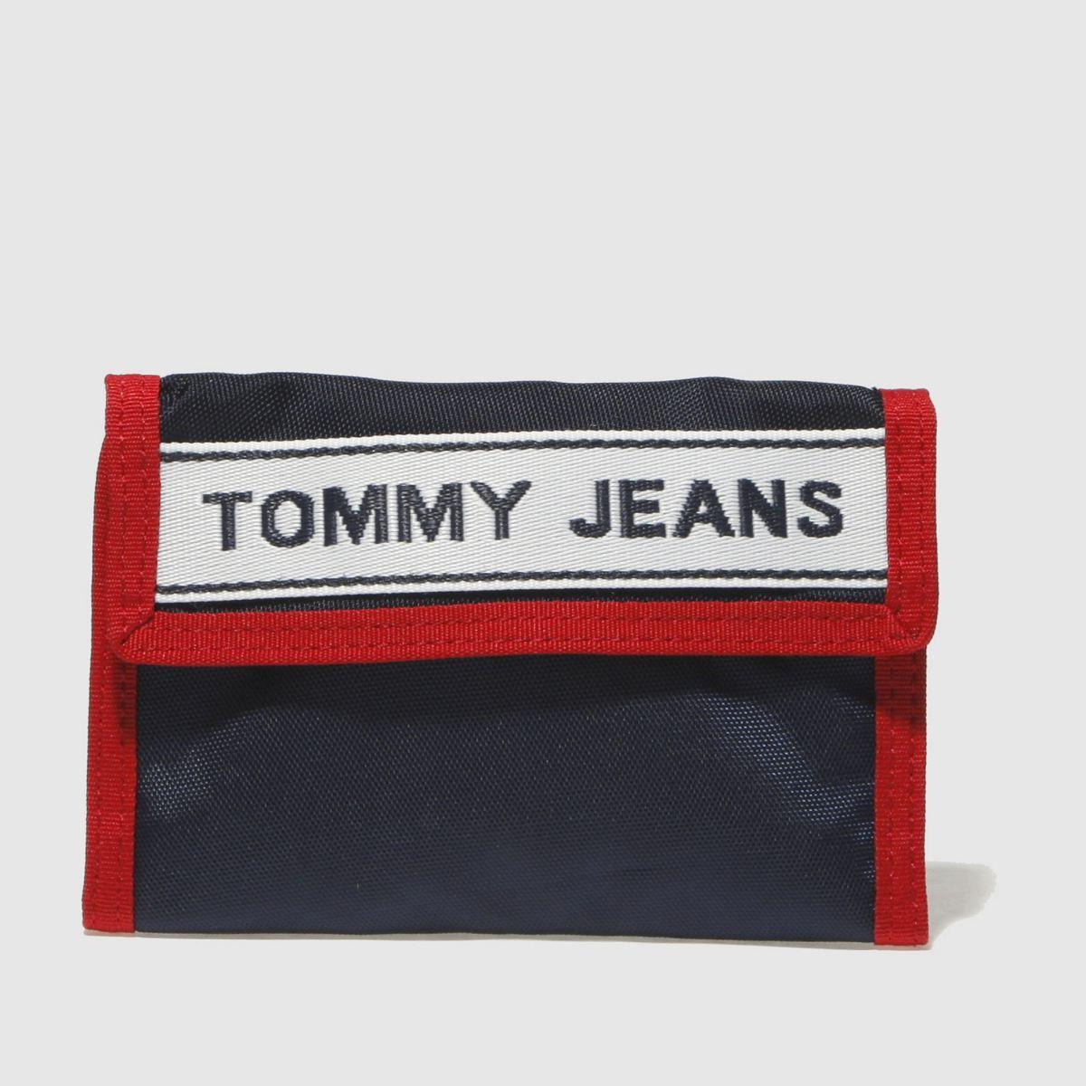Tommy Hilfiger Tommy Hilfiger Navy & Red Tj Logo Crossover