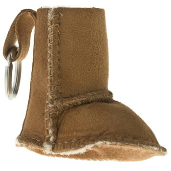 Accessories Ugg Australia Tan Boot Keyring Miscellaneous